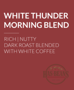 White Thunder Morning Blend Coffee