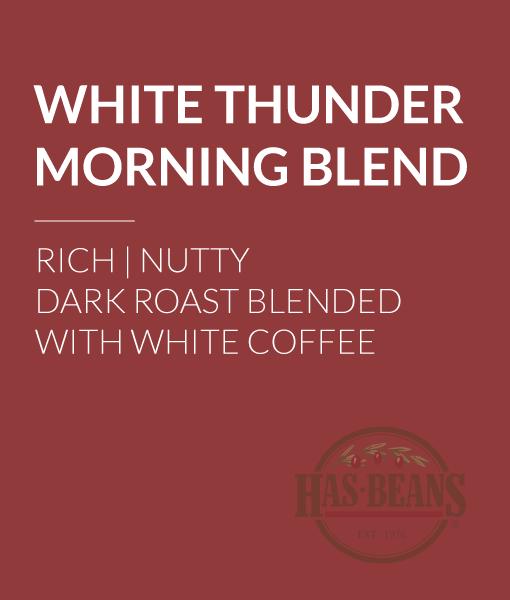 White Thunder Morning Blend Coffee