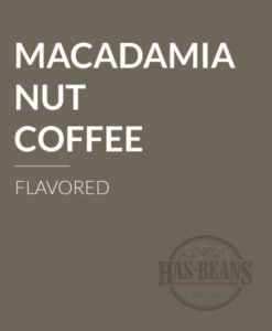 Macadamia Nut Flavored Coffee