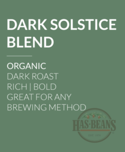 Organic Dark Solstice Blend Coffee