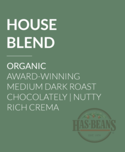 Organic House Blend Coffee