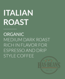 Organic Italian Roast Coffee