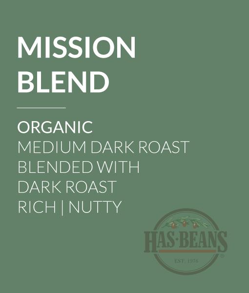 Organic Mission Blend Coffee