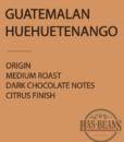 Guatemalan HueHuetenango Coffee