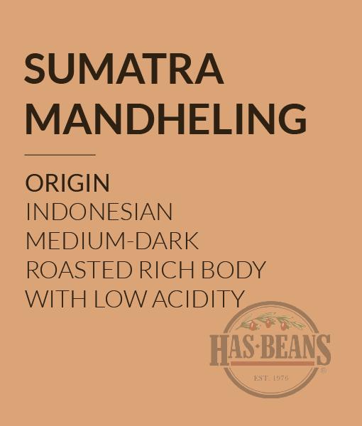 Sumatra Manhelding Coffee