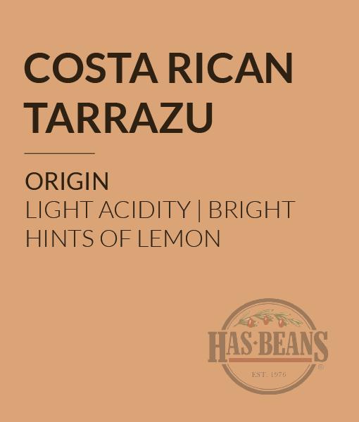 Costa Rican Tarrazu SHB Coffee