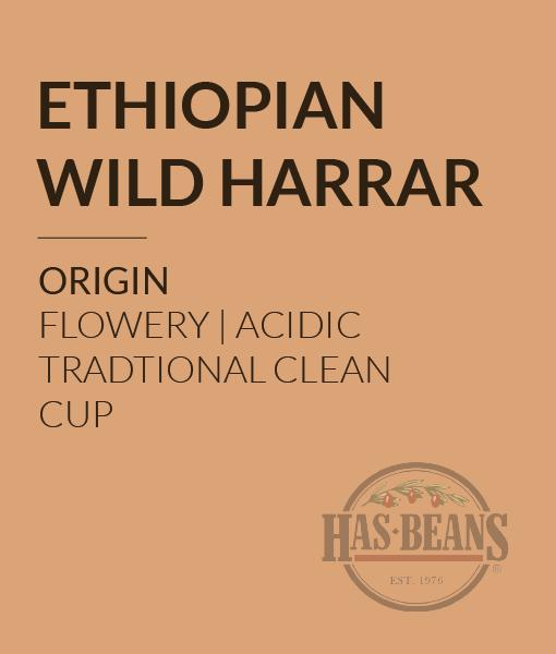 Ethiopian Wild Harrar Coffee