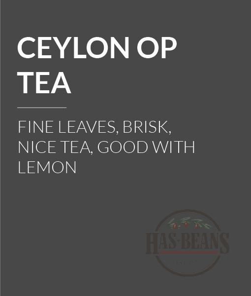 Ceylon OP Tea