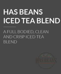 Has Beans Iced Tea