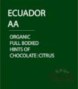 Organic Ecuador AA Coffee